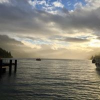 Edward Baral  entered this sunset photo taken in Queenstown, New Zealand.