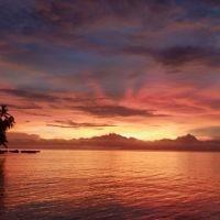 Karen Kacser entered this sunset photo taken in Fiji.