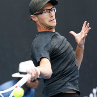 10-1-19. Austarlian Open 2019. Qualifying round 2. Peter Polansky def Blaz Rola  