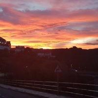 Malcolm Flitman entered this sunrise photo taken in Spain.
