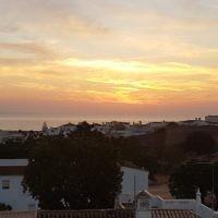 Malcolm Flitman entered this sunrise photo taken in Lagos, Portugal.