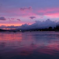 Michelle Hamberger entered this sunset photo taken at Whitianga, New Zealand.