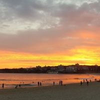 Miriam Tenenboim entered this sunset photo taken in Sydney.