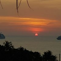 Philip Rubinsteinentered this sunset photo taken in Phuket, Thailand.