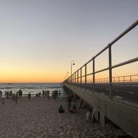 Rachel Shnider entered this photo of sunset over Glenelg Jetty, South Australia