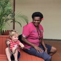 Sacha Temple entered this photo of his son, Zachary, 3, at a wildlife park in Fiji.