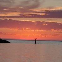 Steven Curtis entered this sunset photo taken at Brighton Beach.