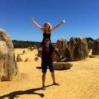 Sue Werman entered this photo of Dan and Laura at The Pinnacles.