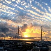 Sue Werman entered this sunset photo taken in Fremantle, Western Australia.