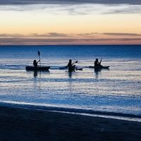 Yael Rothschild entered this sunset photo taken at the beach at Frankston, Victoria.