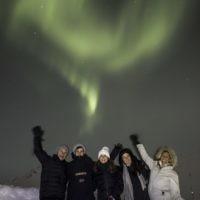 Benji Weinmann entered this photo taken in Norway under the northern lights.