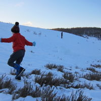 Karin Banna entered this holiday photo taken in the Snowy Mountains.