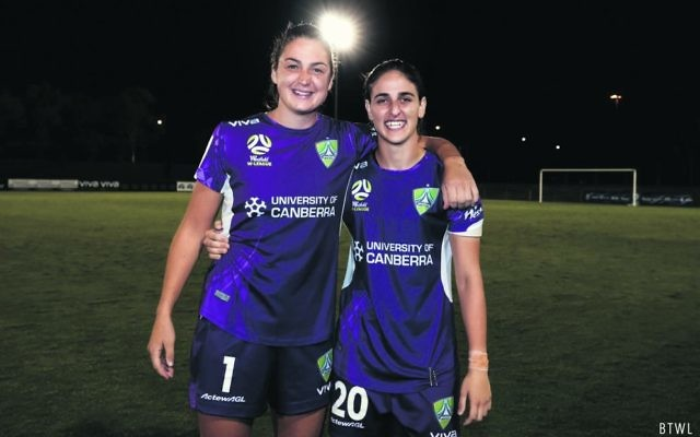 Keepers for life. Maizels and Sham Khamis (right) shared a close relationship this season. Photo: By The White Line