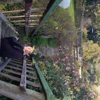 Melissa Morris entered this photo of Ashley at Jindivick Farm Rose Garden.