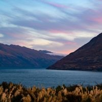 Pinchas Birnbaum entered this sunset photo taken in the South Island of New Zealand.