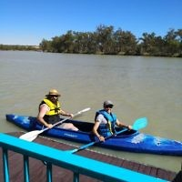 Rochelle Steinberg entered this holiday photo taken on the Murray River in South Australia.