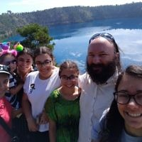 Rochelle Steinberg entered this holiday photo taken at the Blue Lake, Mount Gambier.