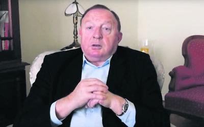 Stanislaw Michalkiewicz.  Photo: YouTube screenshot