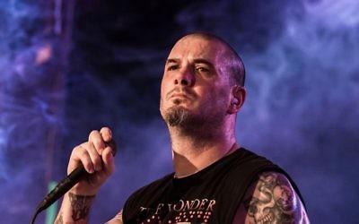 Former Pantera singer Philip Anselmo. Photo: Facebook