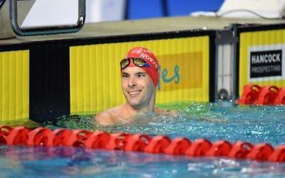 North Sydney Paralympian Matthew Levy. Photo: Swimming Australia