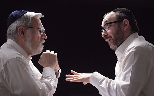 Rabbi Lord Jonathan Sacks and Ashley Blaker collaborated on a video together about Purim.