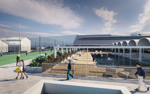 An artist's impression of the new White City.