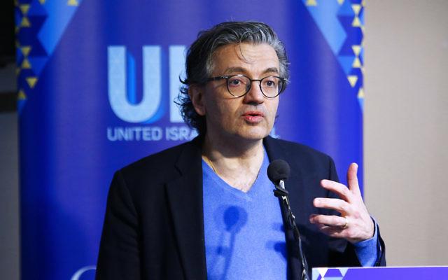 Dr Zuhdi Jasser addresses the UIA community luncheon. Photo: Peter Haskin