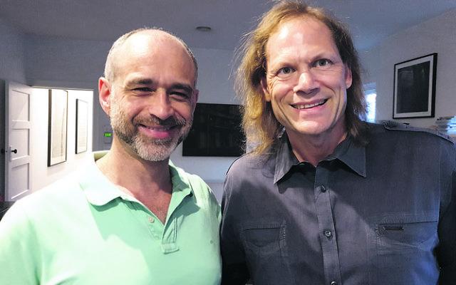 Michael Barnett (left) and Shaun Miller.