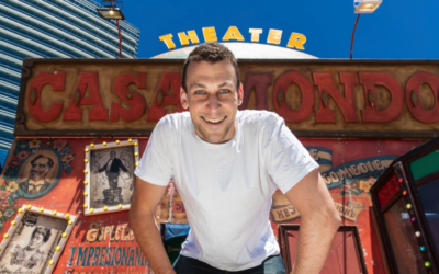 Michael Shafar is performing in this year's Melbourne International Comedy Festival.