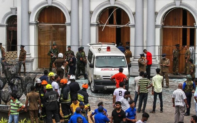 The death toll in the Sri Lanka bomb attacks has risen to almost 300. Photo: Getty Images