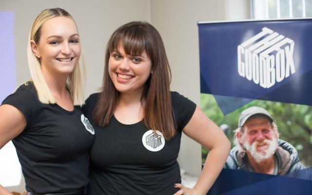The Good Box co-founders Madelyn Jones (left) and Gali Blacher.