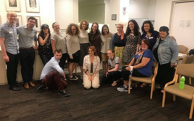 Some of the volunteers in this year's Limmud Oz organising committee.