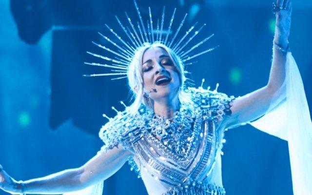 Australia's Eurovision entrant Kate Miller-Heidke.