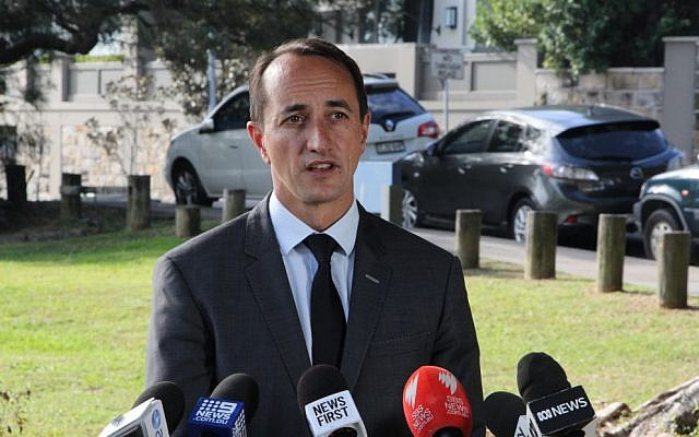 Incoming Wentworth MP Dave Sharma. Photo: Gareth Narunsky