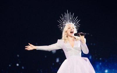 Australia's Eurovision entrant Kate-Miller Heidke. Photo: SBS