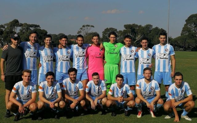 The North Caulfield Maccabi FC men's side.