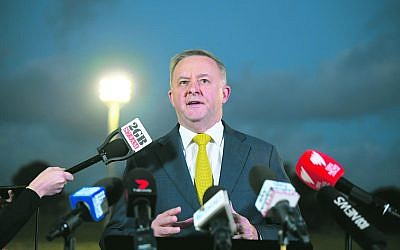 New Labor leader Anthony Albanese. Photo: AAP Image/Joel Carrett