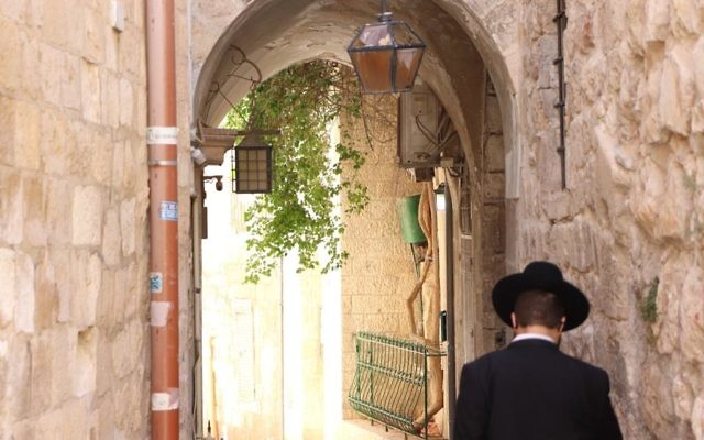 In the Jewish Quarter of the Old City, Jerusalem. Photo: Rebecca Davis