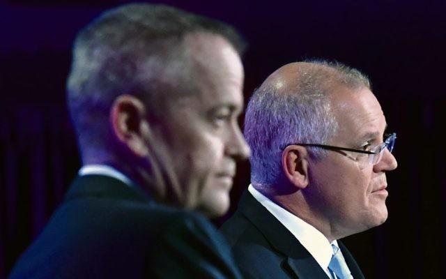 Bill Shorten (left) and Scott Morrison. Photo: AAP Image/Mick Tsikas