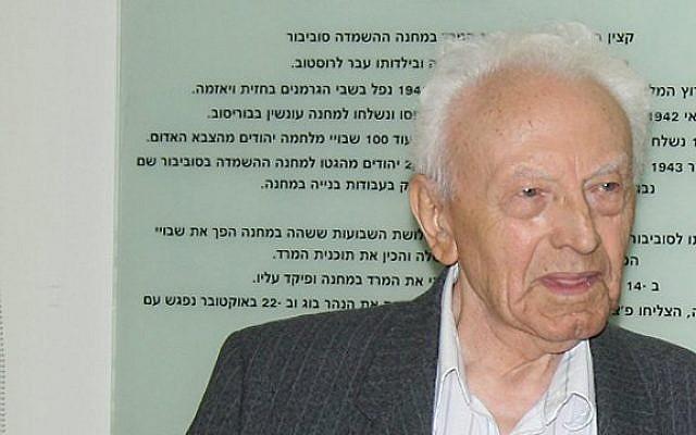 Semion Rosenfeld, the last living survivor of Sobibor, has died aged 96.