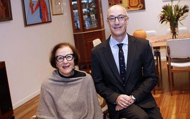 Mother and son Queen's Birthday honorees – Professor Gilah Leder AM and Richard Leder OAM. Photo: Peter Haskin