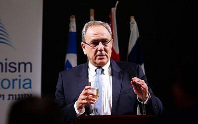 Israeli ambassador Mark Sofer. Photo: Peter Haskin