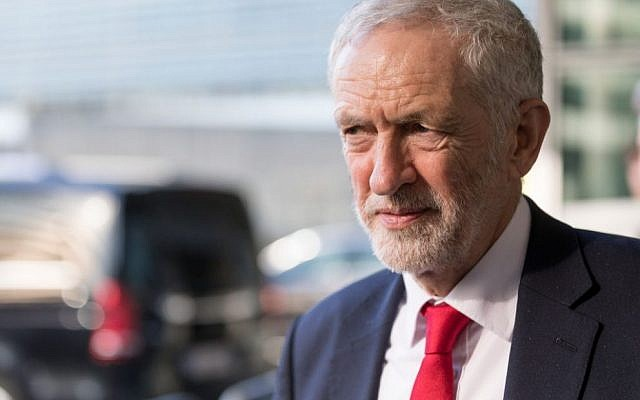 Jeremy Corbyn leads the British Labour Party. (Thierry Monasse/Getty Images)