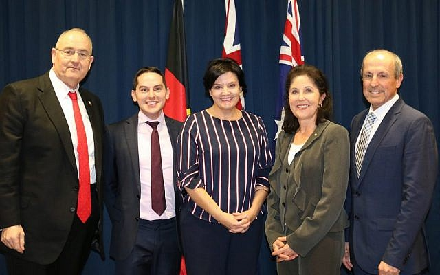 From left: Walt Secord, David Ossip, Jodi McKay, Isabelle Shapiro and Vic Alhadeff.
