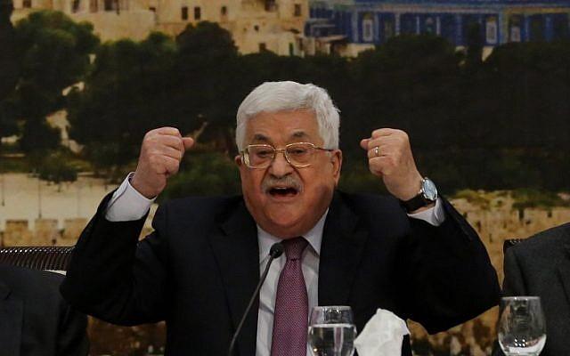 Mahmoud Abbas. Photo: Issam Rimawi/Anadolu Agency/Getty Images