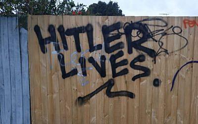 The graffiti near Holmesglen station this week.