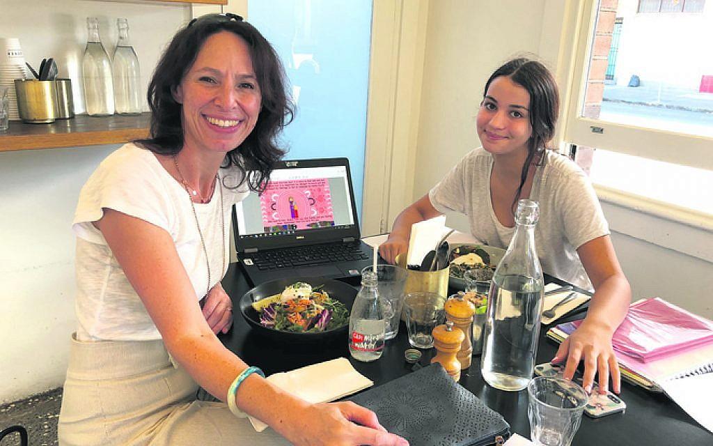 Lisa Sarzin (left) mentors GO Foundation scholar and Wadi Wadi woman, Natalie Abraham.