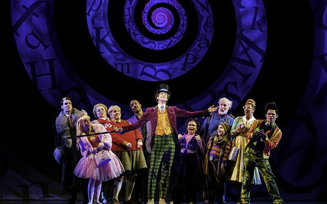 A production of Charlie and the Chocolate Factory.