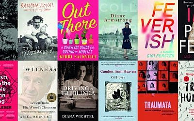 Books that will be discussed at the Sydney Jewish Writers Festival.