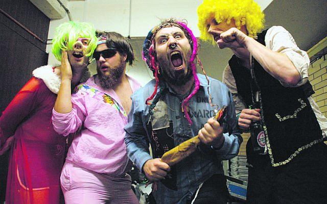 Punk rock band Yidcore.
